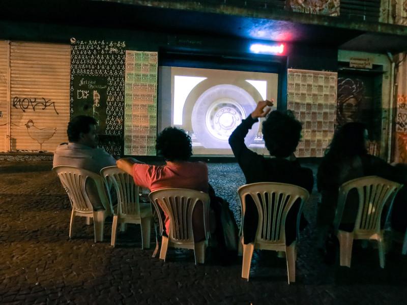 Teatro Espanca! - Cinema de Fachada