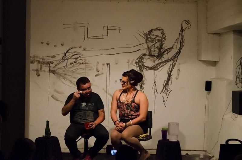 p.arte 02 - Artistas Dalvinha Brandão e Rodrigo Munhoz
