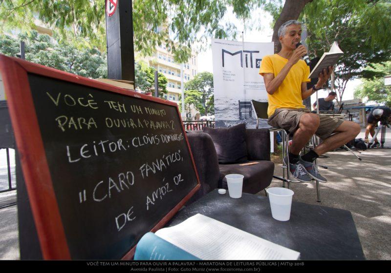 0009_Você tem um minuto para ouvir a palavra_ - Maratona de Leituras Públicas_Avenida Paulista_04032018_Guto Muniz_preview