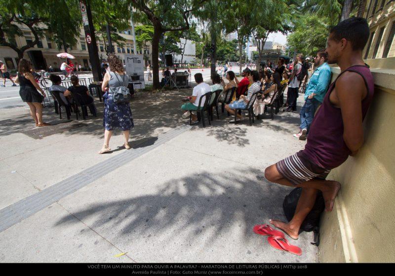 0077_Você tem um minuto para ouvir a palavra_ - Maratona de Leituras Públicas_Avenida Paulista_04032018_Guto Muniz_preview
